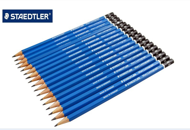 Staedtler Mars Lumograph Graphite Drawing And Sketching Pencils 100 G12 12pcs/box Or Set Of 16 Degrees