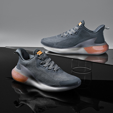 Casual-Shoes Popcorn-Sole Breathable Lightweight Sports Men's Fashion New