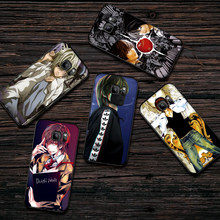 Tampa Do caso Para Samsung A10 A20 A30 A40 A50 A60 A3 A5 6 2018 A8 A6 Plus MJ M40 Coque funda kira Death Note Ryuk(China)