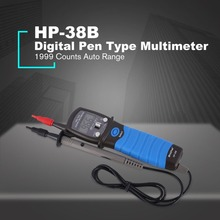 HP-38B Handheld Digital Pen Typ Multimeter Auto Range 1999 Zählt AC/DC Volt Ohm Diode Kontinuität Tester Voltmeter