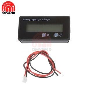 ЖК-дисплей измеритель емкости литиевой свинцово-кислотной батареи уровень мощности литиевой батареи индикатор емкости свинцово-кислотной батареи зеленый