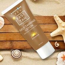 Natural auto bronzeamento loção creme rápido bronzeado creme da pele beleza ferramenta bronzer corpo beleza cosméticos cuidados com a pele tslm2