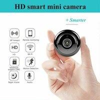 V380 Мини Wi-Fi камера 1080p IP камера беспроводная CCTV инфракрасная камера ночного видения Обнаружение движения 2-сторонняя аудио домашняя камера б... 1
