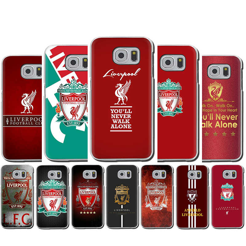 Liverpool Club Hard Phone Cover Case For Galaxy S6 7 Edge S8 9 Plus S10 E Plus Note8 9 M10 20 30 40