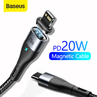 Baseus USB C Cable for iPhone Cable PD 20W Fast Charging USB C to Lighting Cable for iPhone 12 7 Xr 11 Pro Max USB Type C Cable