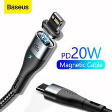 Baseus – Câble USB type C d'éclairage et de charge rapide, de 20 W, pour iPhone 12 7 Xr 11 Pro Max,