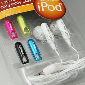 Image 3 - فيليبس SHE2610 سماعة الأذن نوع تغيير غطاء وكمان مشغل MP3 CD اللوحي الهاتف المحمول