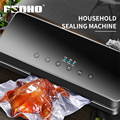 FUNHO вакуумная упаковочная машина для пищевых продуктов с 10 пакетами  автоматическая электрическая вакуумная упаковочная машина для пищевы...
