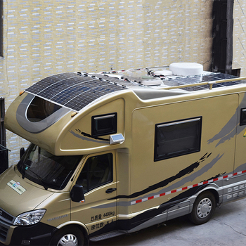 Boguang 2 pcs 100w semi flexible Solar Panel 200W placa solar Photovoltaic monoctrystalline 12v 24V battery/yacht/RV/car/boat RV 6
