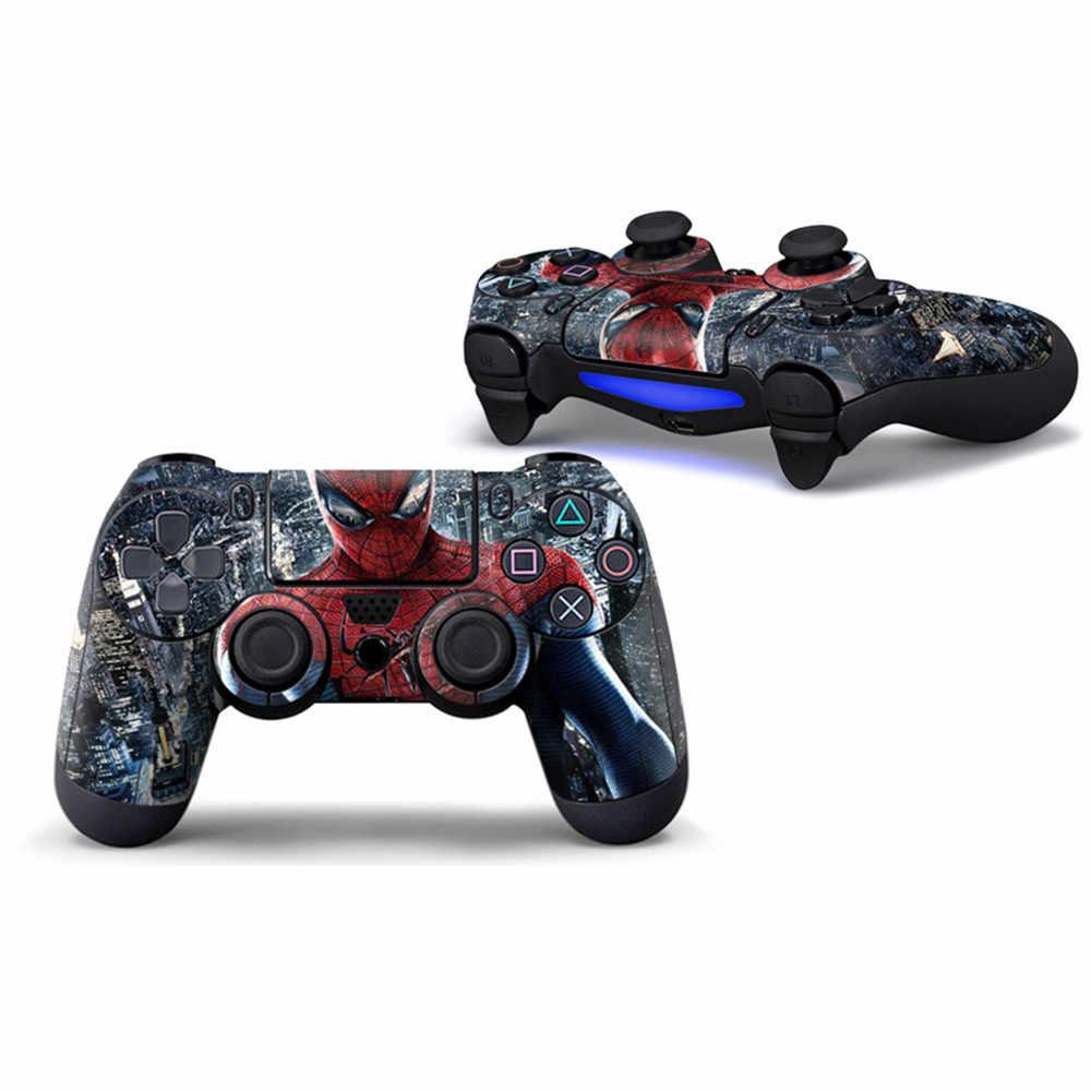 2 sztuk/partia najnowszy przedmiot fajne PS4 skóry naklejka naklejka Vinyl pokrywa dla Sony PS4 PlayStation 4 Dualshock 4 kontroler skóry naklejki