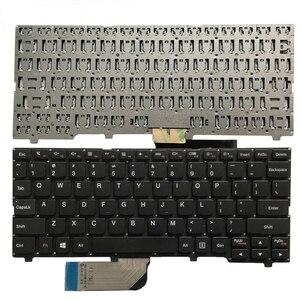 Image 2 - New US laptop keyboard For Lenovo ideapad 100S 100S 11IBY English keyboard black/white