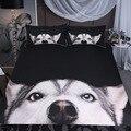 BEST.WENSD  HD  3d  Такса  животное  постельное белье  king size  кровать  французская собака  постельное белье  Wester  3d  прекрасный Утешитель для собаки  по...