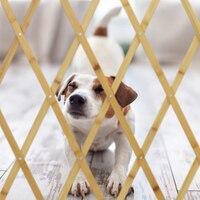 Erweiterbar Holz Hund Barriere Grille Pet Tor Schutzhülle Grille Zaun Für Home Treppen Tür Hund Zaun Versenkbare Klapp Grille
