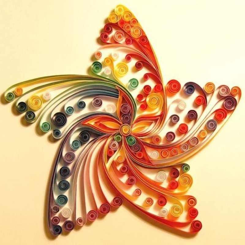 Красочные бумажные полосы ручной инструмент DIY Бумага для художественных и
