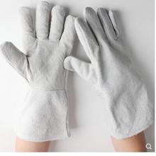 Сварочные перчатки, кожа, высокотемпературная теплоизоляция, анти-скальдинг перчатки, пчелиные перчатки