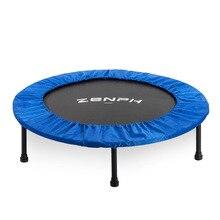 Zenph приглушенный круглый батут для детей для ношения в помещении, развлекательный инструмент для взрослых Фитнес тренировки для стабильных тренировок 40-дюймовый складный батут