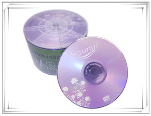 Wholesale 4.7GB DVD+R 8X 120MIN 50pcs/lot free shipping