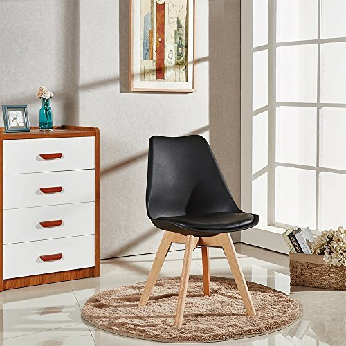 A set of 4 Retro Style Dining Chairs 3