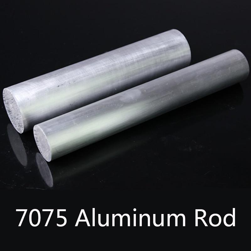 7075 Aluminum Rod Solid Super Hard Aluminum Round Rods Used In Aviation Nautical Industry Diameter 8/10/12/20/30/40mm
