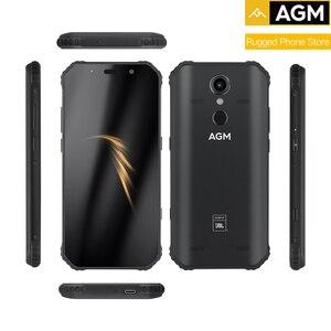 "Image 3 - Orijinal AGM A9 4G RAM 64G + kılıf hediye ROM 5.99 ""Android 8.1 5400mAh IP68 su geçirmez sağlam telefon dört kutusu hoparlörler NFC"