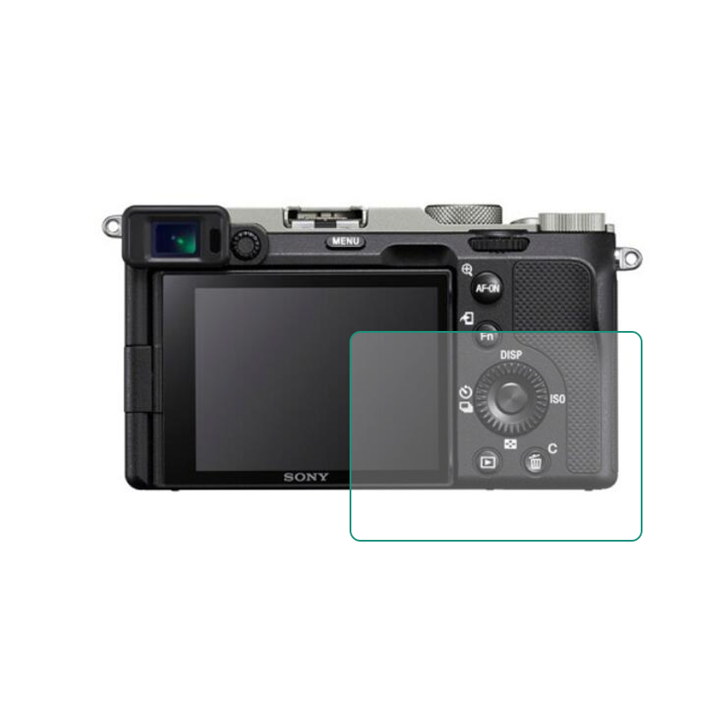 Tempered Glass Protector Guard Cover for Sony Alpha 7C ILCE-7CL A7C A7CL Camera LCD Display Screen Protective Film Protection