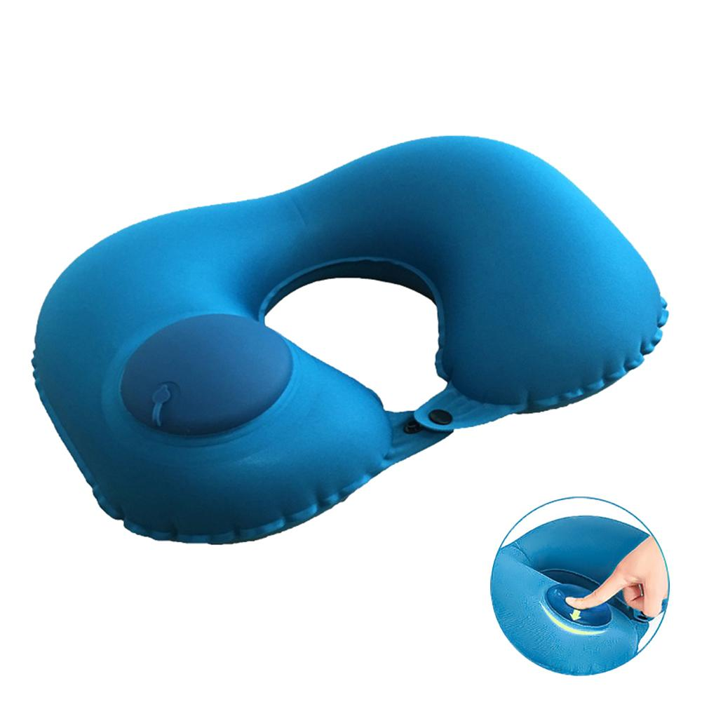 Light Weight Pvc Neck Pillow Inflatable Portable Travel