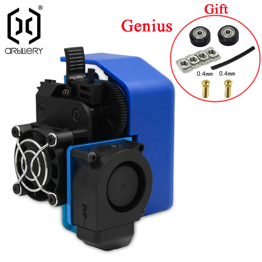 cheapest trianglelab Multi Extrusion Dual Extrusion cooling Chimera  2 IN 2 OUT for 3D printer For E3D hotend Upgrade the accessories