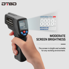 Handheld Non-contact IR Infrared Thermometer Digital LCD Laser Pyrometer Temperature Meter With Backlight -50~380C