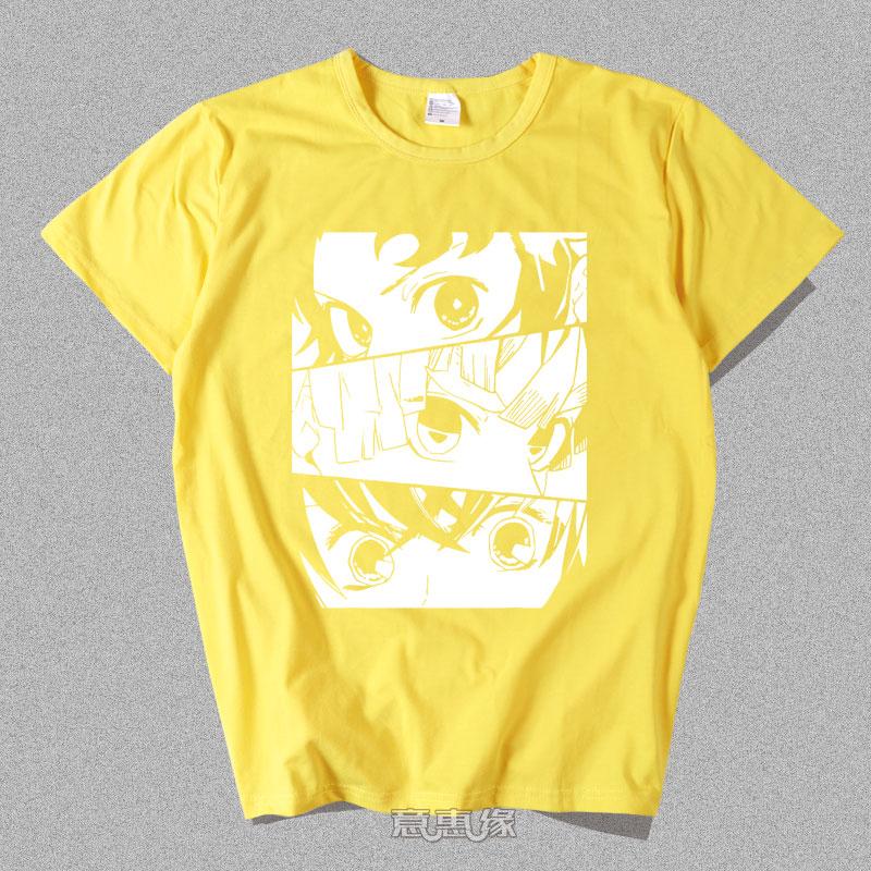 鬼灭之刃新T恤模板012