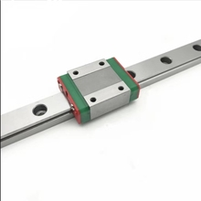 hiwin mgn12 400mm linear guide rail with mgn12c slide blocks stainless steel mgn 12mm kossel mini for cnc 3d printer parts Free shipping 3D print parts cnc Kossel Mini MGN12 12mm miniature linear rail slide 1pcs L-100mm rail+1pcs MGN12H carriage