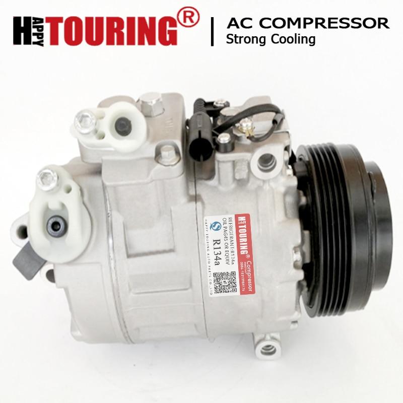 7SB16C A/C Compressor For BMW 5 E39 530 d E46 E38 64526904014 64526904015 64526911341 64528379924 64528362414 64528363485