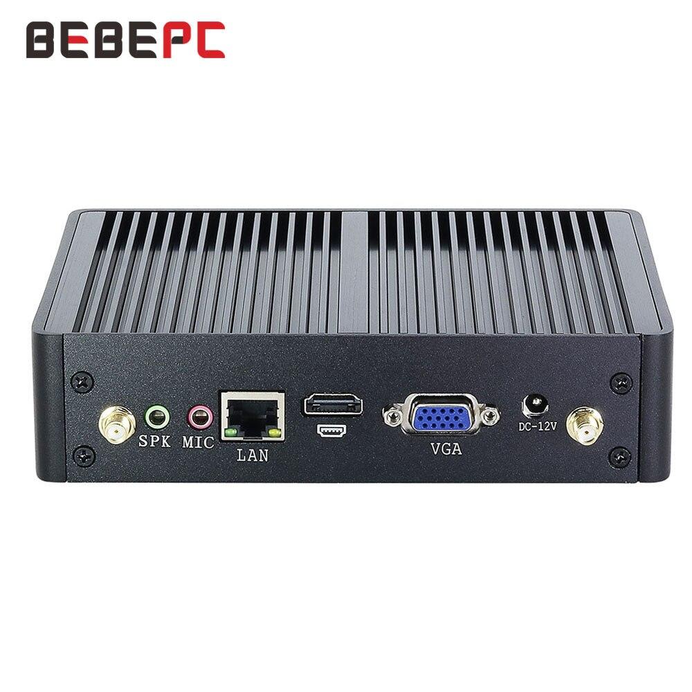 Ultimate SaleHTPC I3 Minipc Windows 7100U Fanless HDMI I7 10-Core Discount Wifi VGA DDR3L 4K