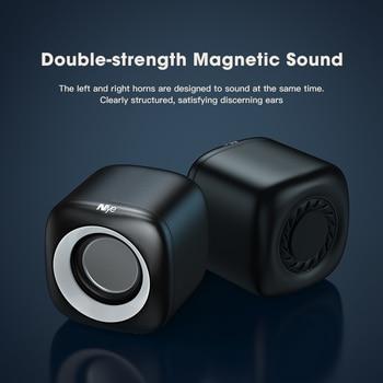 Computer Speakers Stereo Deep Bass Sound Box Speaker for PC Laptop Music Player Subwoofer Multimedia Loudspeakers Not Soundbar 3