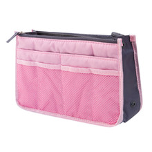 Makeup Bags Large Capacity Nylon Cosmetic Storage Bag Travel Insert Organizer Handbag Purse Makeup Bag For Women Housekeeping