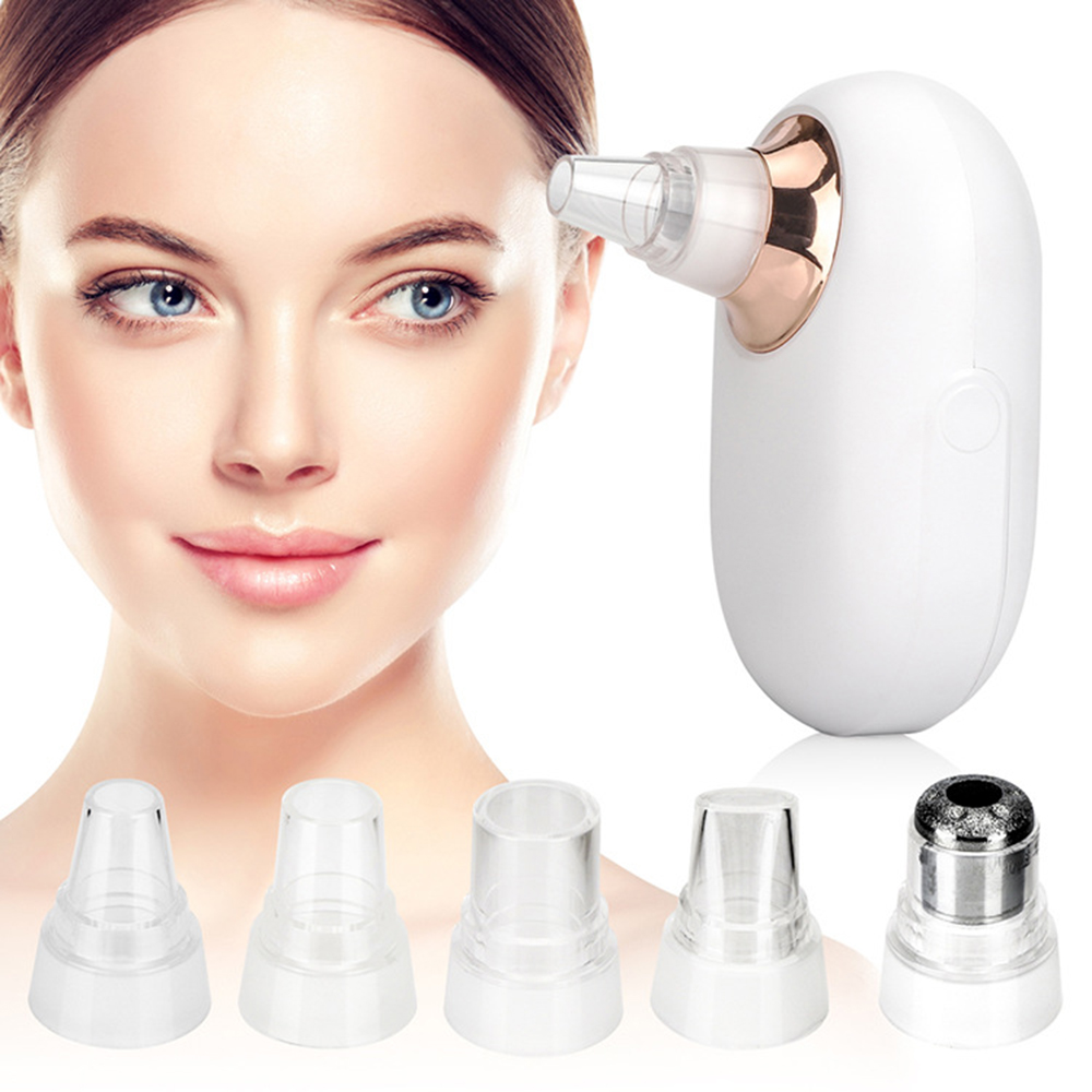 Acne-Extractor Head-Cleaner Suction-Cleaning Diamond Microdermabrasion Black Pores Face-Care