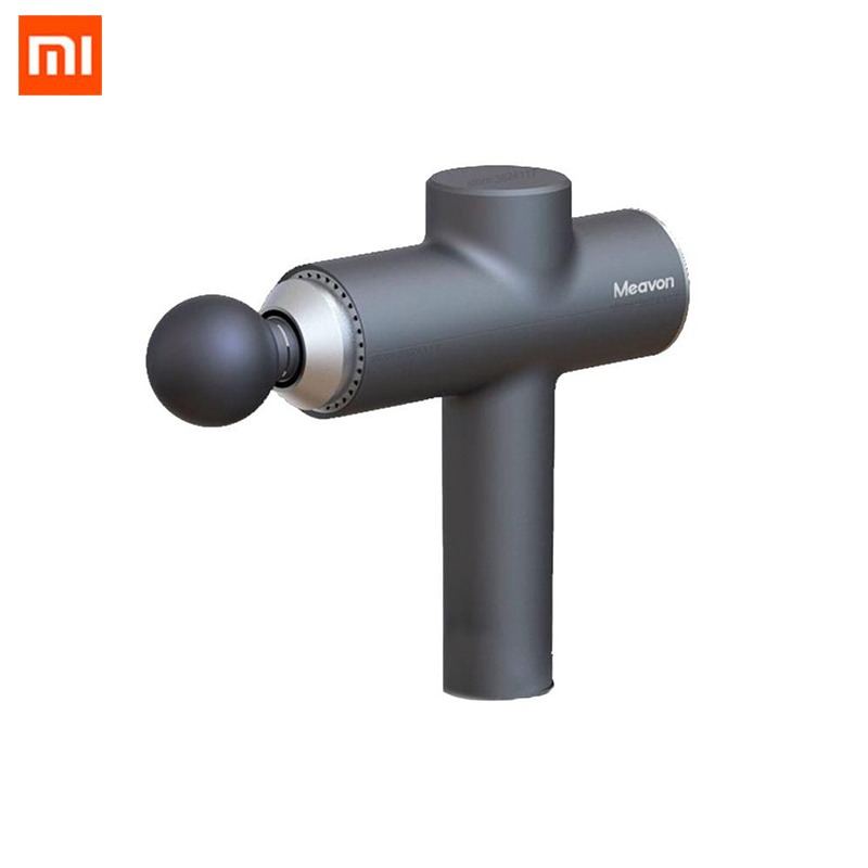 2020 Xiaomi Meavon Smart Double Mode Fascia Gun Muscle Vibration Relaxer Yoga Fitness Physiotherapy Impact Gun Electric Massager