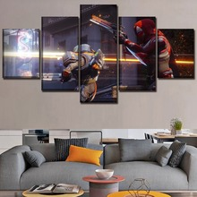 Game Poster Canvas Art Printing Painting 5 Pieces Destiny 2 Modern Home Decor Wall Modular Pictures For Bedroom Framework