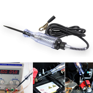 Image 5 - 6V 24V Bút Thử Điện Áp Cầu Chì Và Đèn Ổ Cắm Bút Thử Trong Suốt Mạch Bút Thử Cho Ô Tô Xe Máy động Cơ Phụ Kiện
