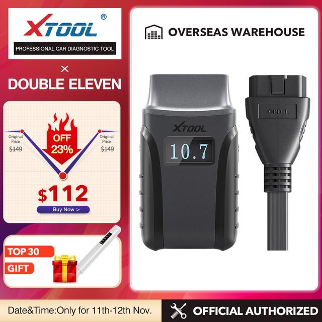 Xtool anyscan A30フルシステムカー診断ツールOBD2コードリーダースキャナepbオイルリセットすべて送料車ソフトウェア送料