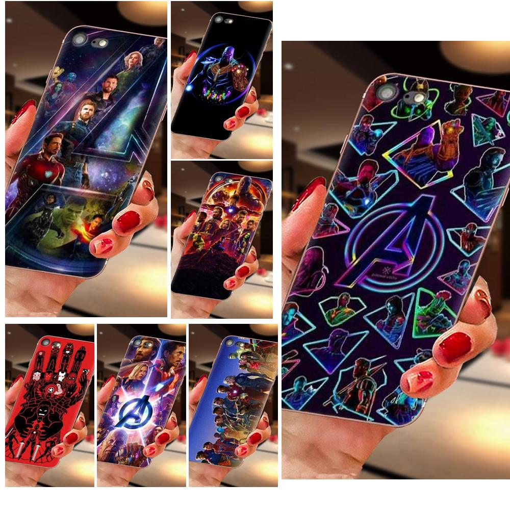 For LG K50 Q6 Q7 Q8 Q60 X Power 2 3 Nexus 5 5X V10 V20 V30 V40 Q Stylus Mobile Covers The Marvel Avengers