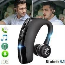 V9 sem fio bluetooth fone de ouvido esportes fones handsfree bluetooth esportes negócios baixo com microfone para xiaomi