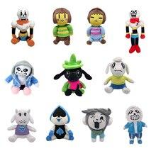 11 видов стилей Undertale плюшевые игрушки куклы Sans Frisk Chara Asriel Lancer Temmie Toriel мягкие игрушки день рождения для Дети Детские подарки