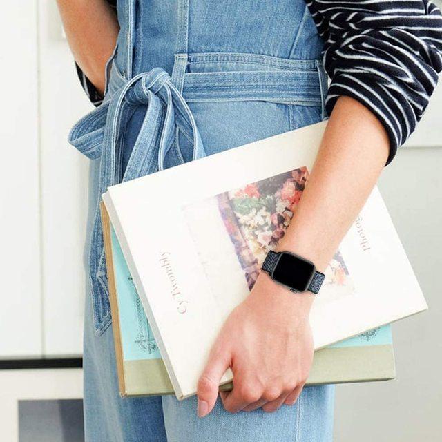Cinghia Per apple watch serie 5 40 millimetri fasce per 4 44 millimetri correa Nylon apple watch 3 42 millimetri/38 millimetri iwatch serie 5/4/3/2/1 cinturino Colorato