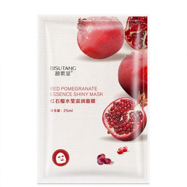 Fresh Orange Aloe Rice Pomegranate Bamboo Rose Green Tea Honey Moisturizing Water Mask 4