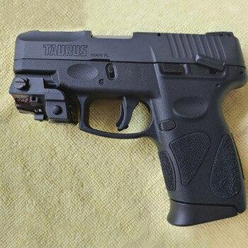LASERSPEED Tactical Pistola Laser Sight Green MIL-STD-1913 Picatinny Rail Mini Laser Glock 17 19