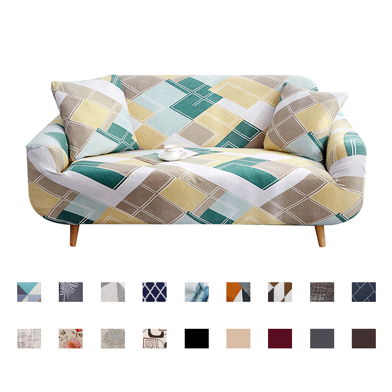 Sofa Cover Slipcover Stretch slip resistant 4Season Sofa Covers elastic full Couch Cover sofa Towel Single/Two/Three/Four seater Sofa Cover    - AliExpress