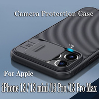 NILLKIN-funda protectora trasera para iPhone 13 Pro Max, para iPhone 13 carcasa deslizante para cámara, para iPhone 13 mini