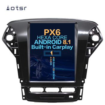 "Aotsr 10.4""  Vertical screen Android 8.1 Car DVD Multimedia player GPS Navigation For Ford Mondeo/Fusion MK4 2007- 2012 carplay"