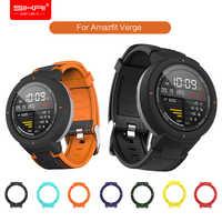 Smart Watch Strap per Amazfit Sull'orlo Xiaomi Huami 3 lite banda di Silicone braccialetto di ricambio e Custodia SIKAI Protettiva Della Copertura del PC