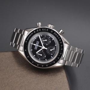 Image 2 - Orologio da uomo Sport 24 ore orologi multifunzione orologio da uomo al quarzo cronografo completo in acciaio inossidabile di lusso di marca superiore Relogio Masculino